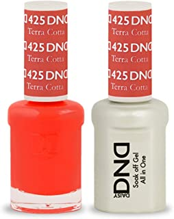 DND Soak Off Gel 0.5 Ounce (425 Terra Cotta)