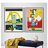 Abstract Painting Le Corbusier Art Poster Surreal Cubism