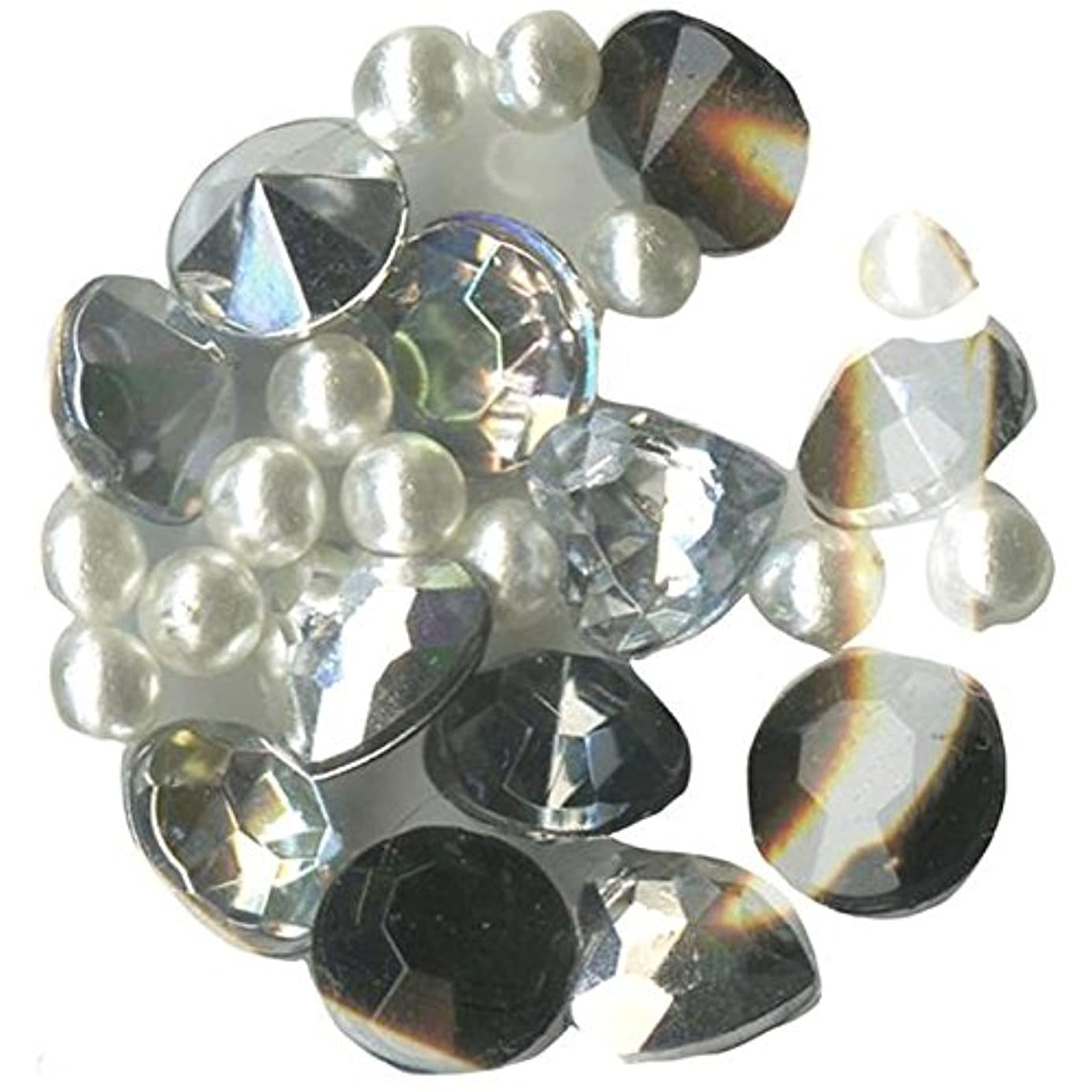 Blue Moon Beads Story Lockets Acrylic Charm, Diamonds, Assortment