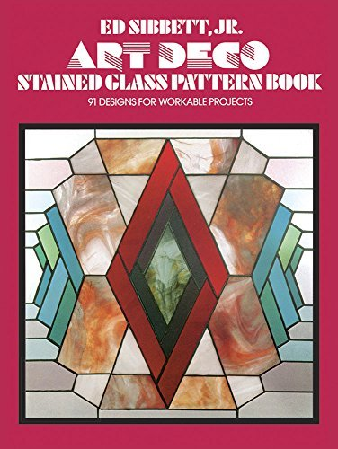Art Deco Stained Glass Pattern Book: 91 Designs for Workable Projects (Dover Stained Glass Instruction) by Ed Sibbett (2000-01-02)