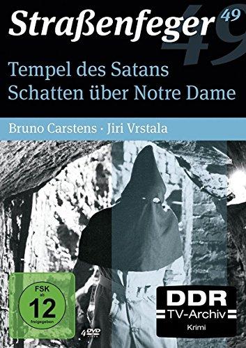 Straßenfeger 49: Tempel des Satans / Schatten über Notre Dame [4 DVDs]