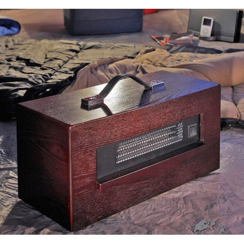 New Dynamic Infrared Indoor 1,500w Convection Cabinet Personal Space Heater