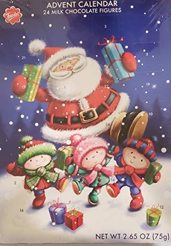 Friedel Adventskalender Adventskalender mit 24 Milchschokoladenfiguren