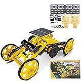 WANGCHAO Kit de Robot Solar de Tallo, Kit de Bloques de...