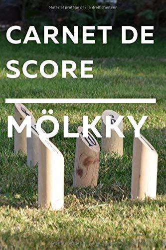Carnet de score Mölkky