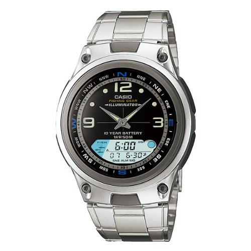 Casio AW-82D-1A - Reloj de pulsera (acero inoxidable)