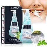 Whitening Toothpaste, Pâte Dentifrice au Bicarbonate de Soude, Pâte dentifrice à la menthe, Extrait Pur à 100% de Menthe Naturelle, Décontaminant Fortement, Blanchissant, Dentifrice Sans Fluor