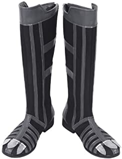 Black Panther Boots Deluxe Black Panther Costume Claw Shoes for Halloween Cosplay