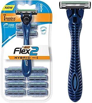 BIC Flex 2 Hybrid Men's Twin Blade Razor