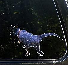 Yadda-Yadda Design Co. Cosmic Tyrannosaurus - Galaxy T Rex- Vinyl Dinosaur Decal for Cars   Trucks   ATVs   RVs   Outdoor Use - Copyright (7.5