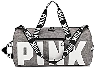 Ativafit Duffle Bag Gym Exercise Sport Tote Bag Overnight Travel Weekend Bag  Women ae4e0545e5936