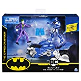 Bizak- DC Comics Batman Batmoto con 2 Figuras 10 cm Bat Tech, Multicolor (61927830)