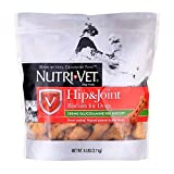 Nutri-Vet Hip & Joint Dog Supplements   Formulated with Glucosamine   Peanut Butter Flavored Biscuits