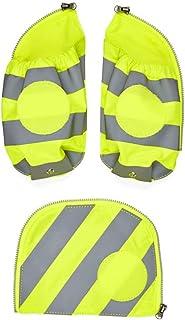 ergobag Seitentaschen Zip-Set mit Reflektorstreifen - Sicherheits-Set mit Seitentaschen, pack, cubo und cubo light, Set 3-...