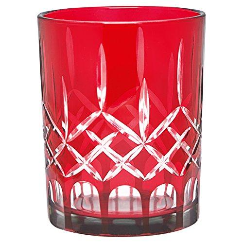 GreenGate Judy Windlicht rot 12,5 cm