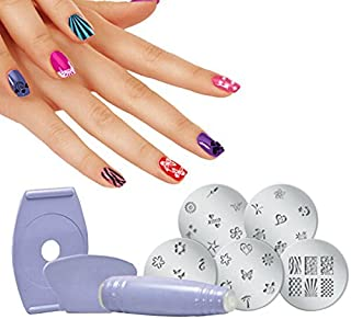 KN Enterprise Salon Express Nail Art Stamping Kit