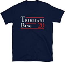 Friends TV Show Joey Tribbiani Chandler Bing 2020 Tshirt, Funny Novelty Merchandise Gift Ideas for Fans, Printed in USA