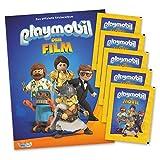 Playmobil - Der Film - Stickerset Sammelalbum + 5 Booster - deutsche Ausgabe -
