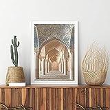 DASHBIG Marokkanische Architektur Druck Marrakesch