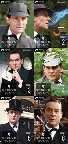 Sherlock Holmes - Volume 1/2/3/4/5/6 - Jeremy Brett [Edizione Restaurata 2K]