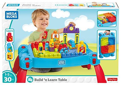 Mega Bloks FGV05 Build & Learn Table