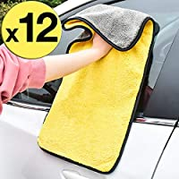 12-Pack GreatCool Car 24x12-in Microfiber Cleaning Cloth Drying Towel