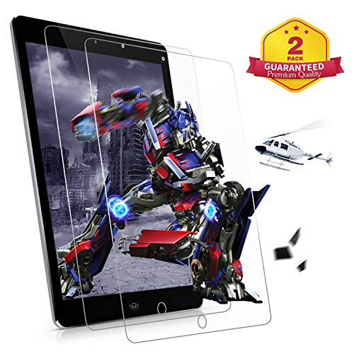 [2 Pack] ZoneFoker New iPad Air 3 10.5 Inch Screen Protector (2019 Releases), [Anti-Scratch][Easy Installation][Bubble Free] Tempered Glass for 3rd Generation Apple iPad Air3