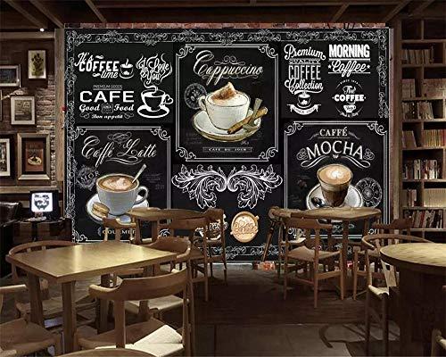 HDDNZH muurschildering op maat, 3D grote muurschildering behang vintage tafel koffie catering TV sofa achtergrond muur woonkamer slaapkamer huis decoratie 320cm(H)×600cm(W)