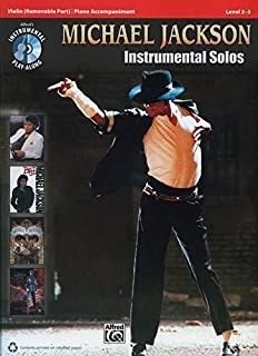 Michael Jackson - Instrumental Solos: Violin (Pop Instrumental Solos Series)