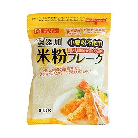 上万糧食製粉所 米粉フレーク 100g