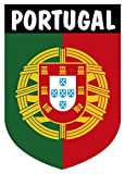 Pegatina Escudo Portugal con Emblema 40x60 mm.