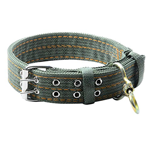 N+A Collar de perro, collar de perro grande, collar de doble pecho para mascotas