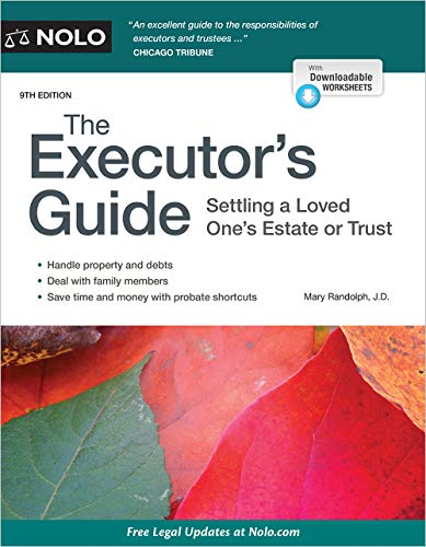 Executor's Guide, The: Settling a Loved One's Estate or Trust (English Edition)