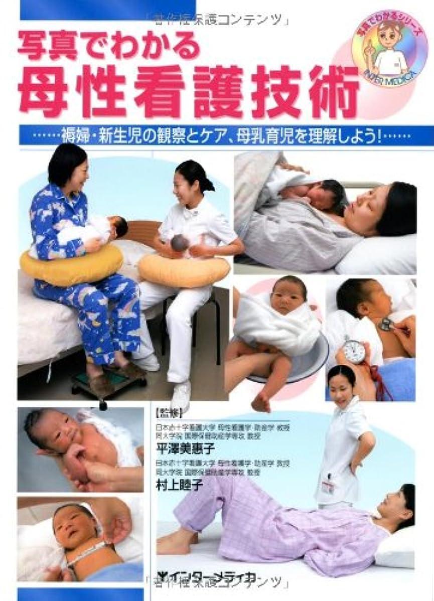 カブタイムリーな修理可能写真でわかる母性看護技術―褥婦?新生児の観察とケア、母乳育児を理解しよう! (写真でわかるシリーズ)