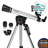 Celestron - 60LCM Computerized Refractor Telescope - Telescopes for Beginners - 2 Eyepieces -...