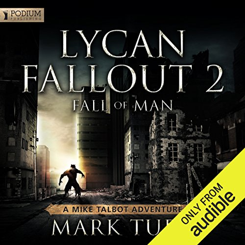 Lycan Fallout 2: Fall of Man audiobook cover art