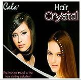 Hair Jewelry Crystals Gems 40pcs