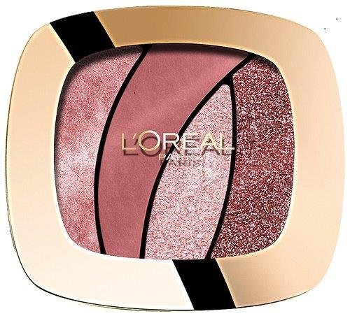 L'Oréal Paris Color Riche Quads Eyeshadow, Sed Rose- Lidschatten Palette für ein intensives,...