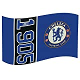 Chelsea FC Football Club Since 1905 Flag Style Blue Supporter Fan Match Banner -