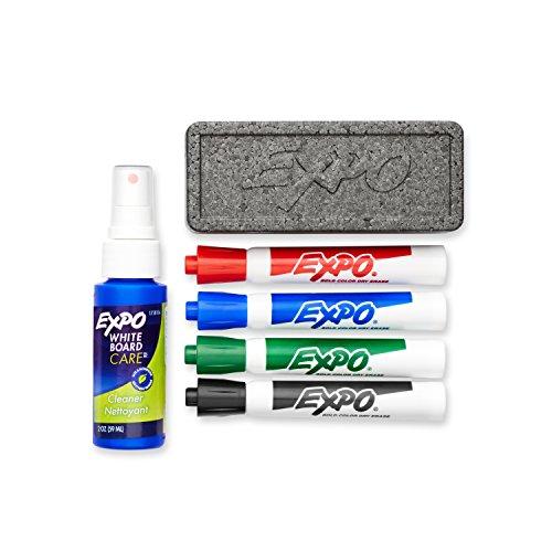 EXPO Original Dry Erase Set, Chisel Tip, Assorted Colors, 6-Piece