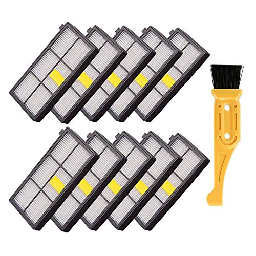 10pcs Side Brush for Irobot Roomba 800 880 900 960 980 Series Vacuum Cleaners