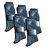 Cerruti 1881 Herrensocken Anthrazit, 6er Pack, Größe 39-42