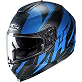 HJC C70 Helmet - Boltas (Medium) (Blue/Black)