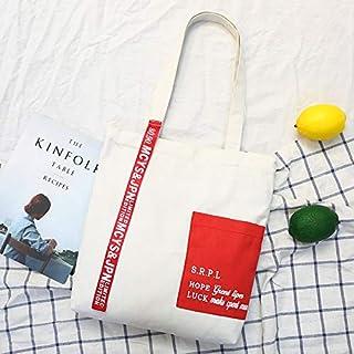 4b689d5a5fc7f Bamboo La Couleur Flottante De Ruban Version Coréenne Du Sac En Toile  Occasionnel Des Étudiants De