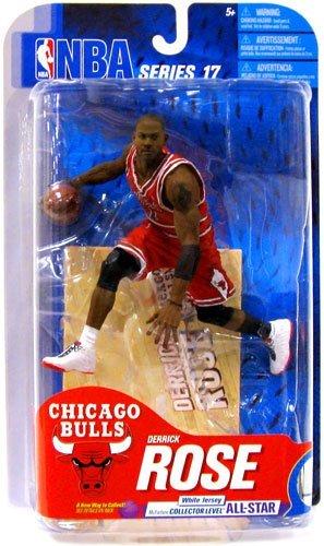McFarlane NBA Series 17 Derrick Rose - Chicago Bulls