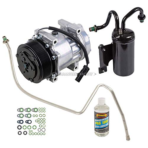 AC Compressor & A/C Repair Kit For Dodge Ram Cummins Diesel 5.9L 2003 2004 2005 - BuyAutoParts 60-80312RK New