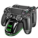 Tobo Dobe PS4 Dual Shock Controller Dual USB Charging Charger Docking Station