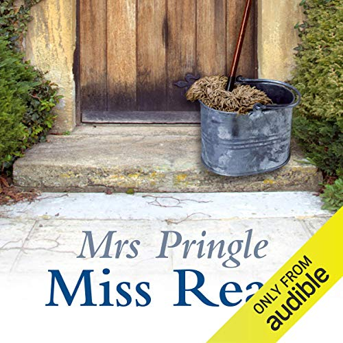 Mrs Pringle audiobook cover art