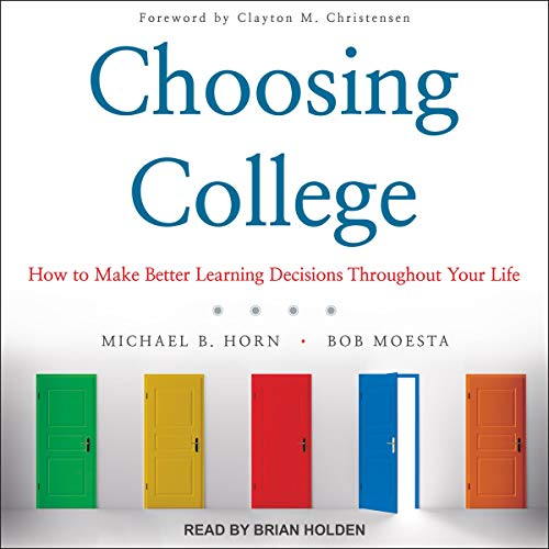 Choosing College audiobook cover art