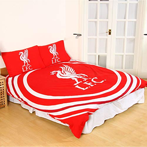 Liverpool FC Red Pulse Double Duvet Set LFC Official
